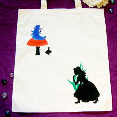 Goblin Market - Alice in Wonderland 'Caterpillar' Bag