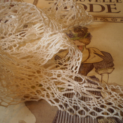 Shabby Chic vintage lace for scrapbooking