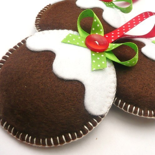 Figgy Pudding Christmas Decoration