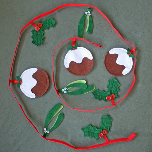 Christmas bunting