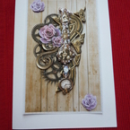 Gorgeous Steampunk Card
