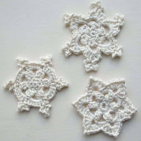 Crochet Snowflake Patterns Free Easy : CROCHET FREE PATTERN SNOWFLAKE - Crochet ? Learn How to ...