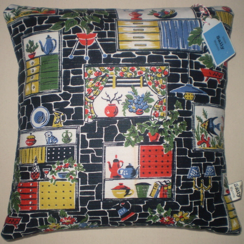 1950s retro cushion