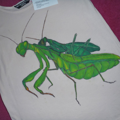 Lingford Illustration - Praying Mantis Print