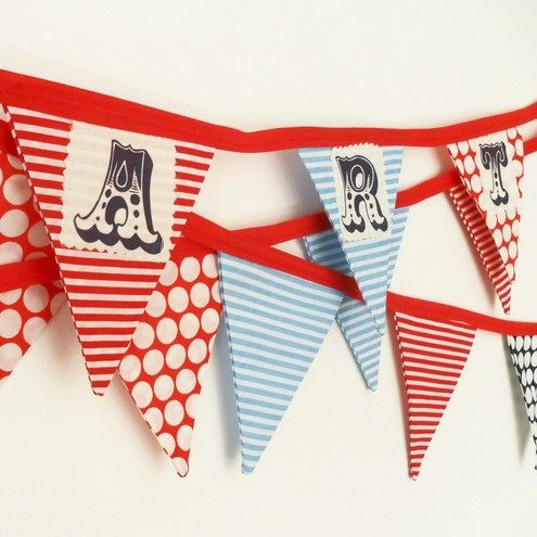 Bunting Party Garland
