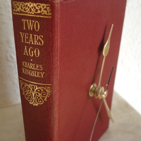 clock made from a vintage bookbook £26.00 - Bookity