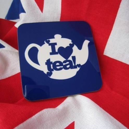 I love tea coaster
