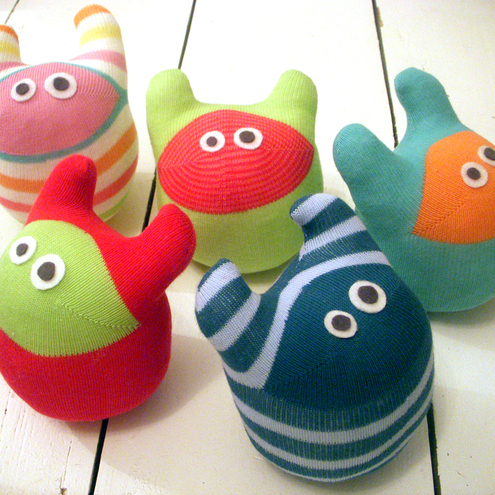 Make your own sock monster kit
