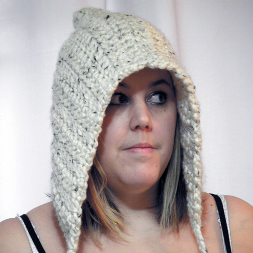 Woodland Pixie Crochet Hood