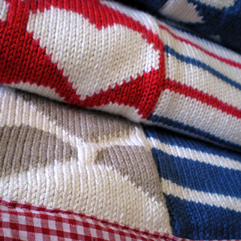 buddy knitted blanket