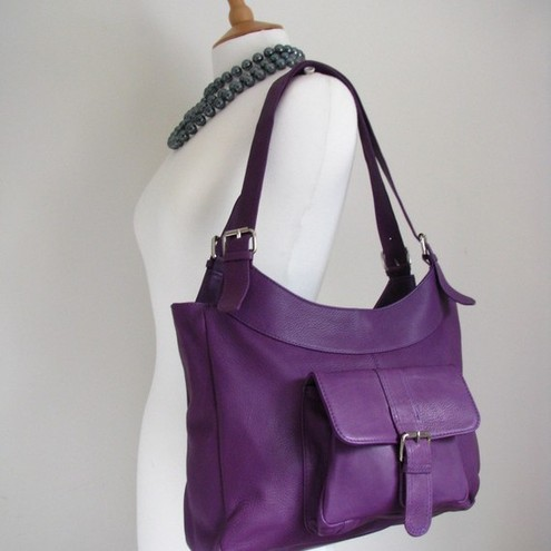 976c2b9340d5 Brand Clutch Bags  Purple Leather handbags in Providence