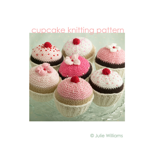 knitting pattern for a cupcake