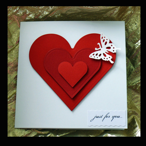 Luxury Handmade Valentines Day Cards Folksy Blog