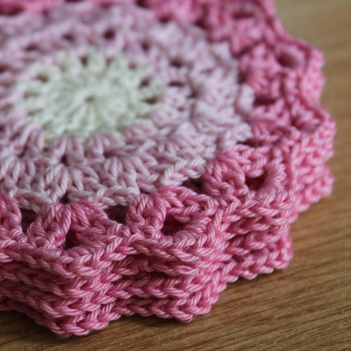 COASTER CROCHET LINKS PATTERN FREE CROCHET PATTERNS
