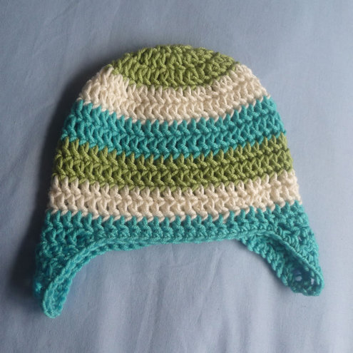 Claire Sibley - Crocheted Baby Hat