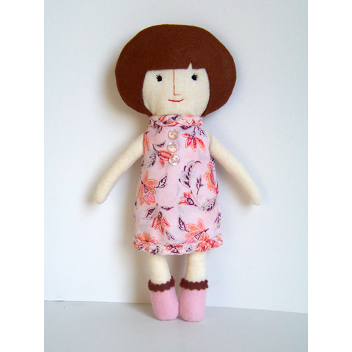 One of a Kind Handmade Cloth Doll